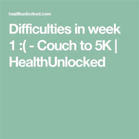 nhs couch to 5k week 5 25 best ideas about couch to 5k on pinterest couch to