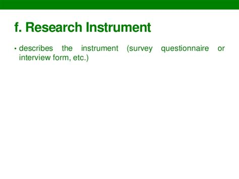 sle of research instrument in thesis exle of research instrument in thesis 28 images