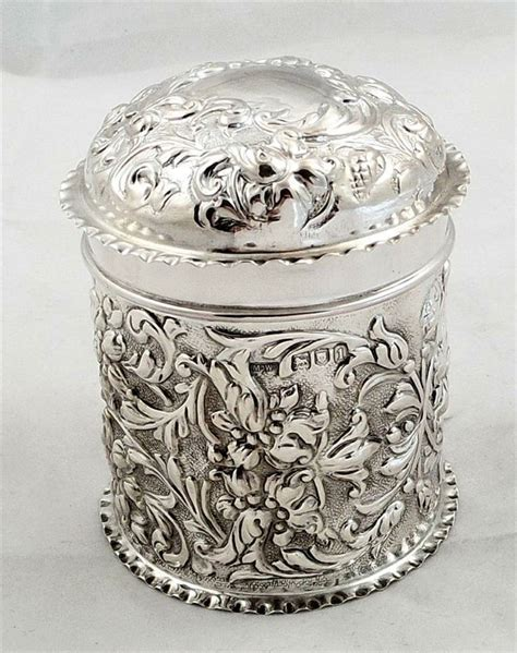 Vanity Jars by 17 Best Images About Antique Silver Vanity Sterling Jars