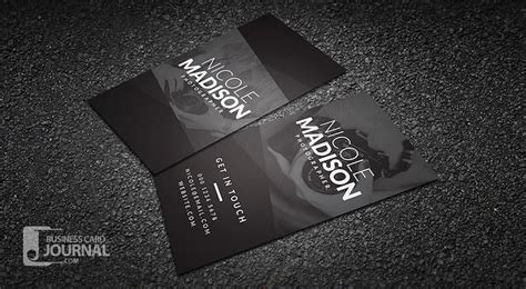 photographer business card templates 20 professional business card design templates for free