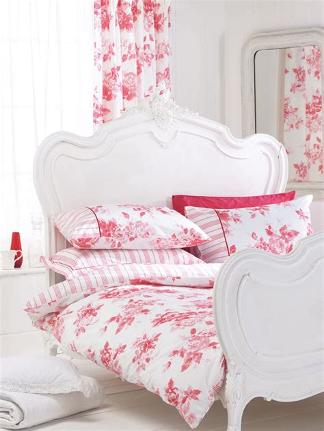 red and white bedding helena springfield pink floral bedding duvet cover or