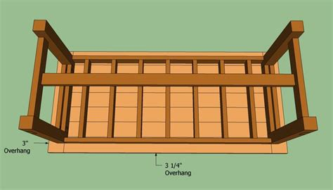 farmhouse bed plans howtospecialist how to build step 1000 ideas about farmhouse table chairs on pinterest