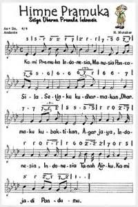 Koleksi Lengkap Lagu Wajib Nasional Daerah not angka hymne pramuka not angka lagu terbaru