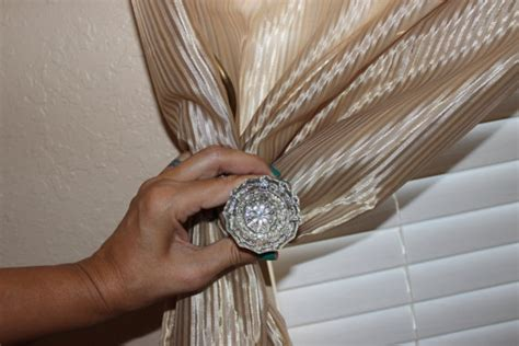 Door Knob Curtain Tie Backs by Items Similar To Vintage Door Knob Curtain Tie Back