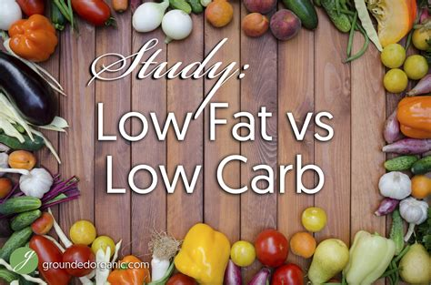 23 studies on low carb and low fat diets time to retire study low fat vs low carb grounded organic