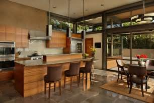 House Design Kitchen Ideas Grand Glass Lake House With Bold Steel Frame