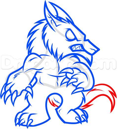 step 10 how to draw a werewolf transformation werewolf how to draw a chibi werewolf step by step chibis draw