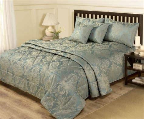 6 piece king size bedroom sets bedroom bedding 6 piece jacquard blue gold bedding king