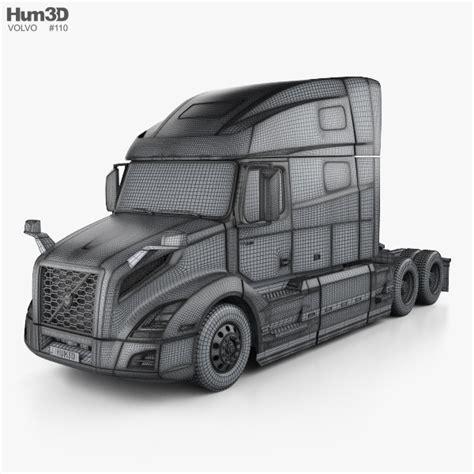 volvo 760 truck volvo vnl 760 tractor truck 2018 3d model hum3d