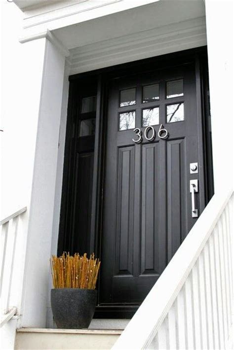 Front Door Windows Inspiration Black Front Door W Top Window Charlet Chic