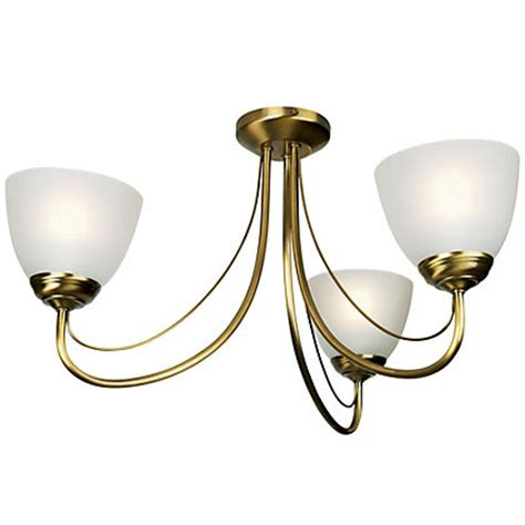 Homebase Ceiling Lights Rome Antique Brass Ceiling Light
