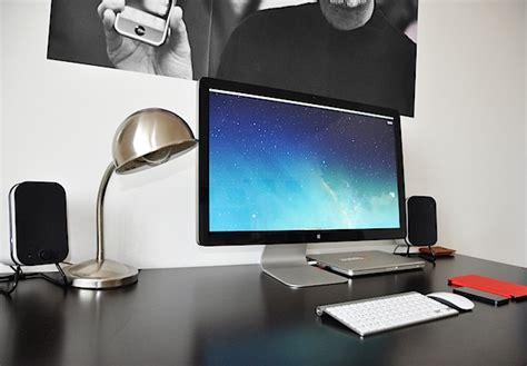 minimalist desk setup beautifully minimalist mac setup of a video editor and