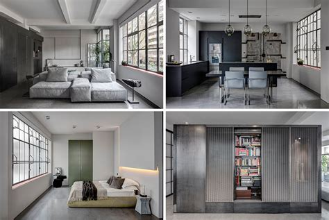 industrial home design uk this apartment s industrial interior was inspired by the