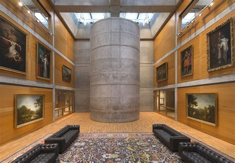Yale University Art Gallery Floor Plan Louis Kahn S Yale Center For British Art Reopens After