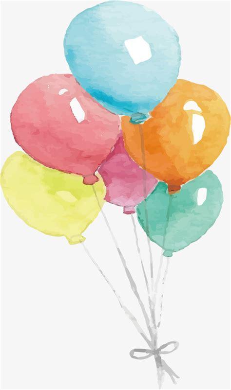 color water balloons watercolor balloon watercolor vector balloon vector