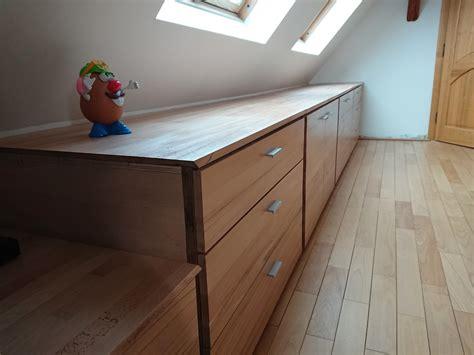 decirage d un meuble fabrication d un meuble sur mesure sous combles