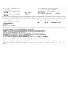 Fake Car Insurance Card Template Printable Fake Insurance Cards Car Insurance Certificate