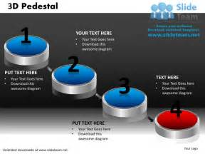 how to make achievement 3 d pedestal powerpoint slides and