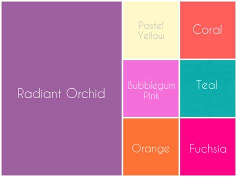 radiant orchid is 2014 pantone color of the year suzannes catering event planning