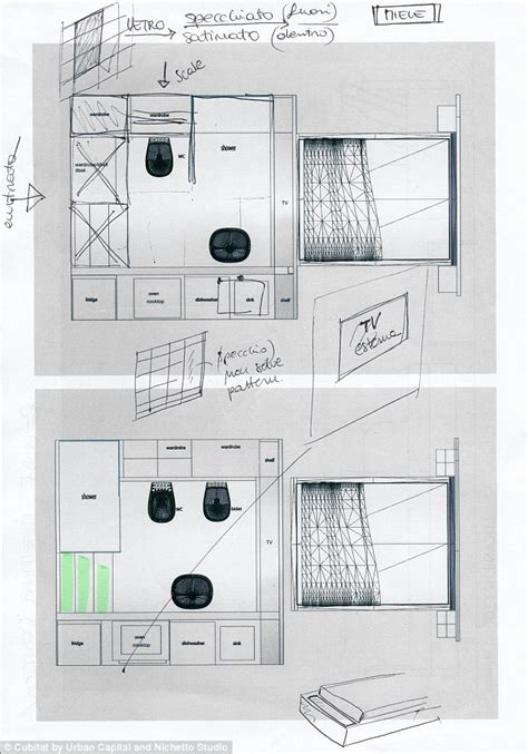 Dishwasher Kitchen Cabinet by Architects Create Cubitat That Turns Any Space Into An