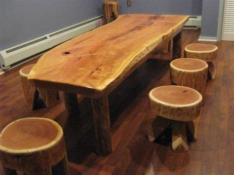 Rustic Slab Furniture