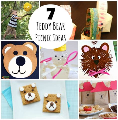 teddy crafts for 7 crafts to celebrate a teddy picnic