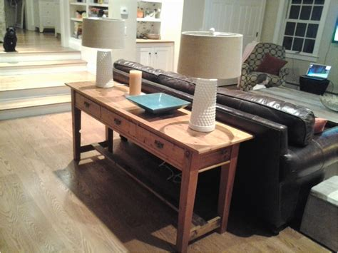 how to decorate a sofa table behind a couch console table behind couch best of behind couch table