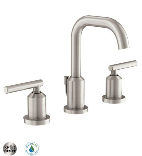 moen kitchen faucet assembly faucet com 84229srn in spot resist brushed nickel by moen