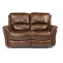 flexsteel 1445 60p dominique leather power reclining