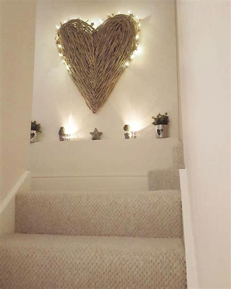 extra large wicker heartscreate  feature wall www