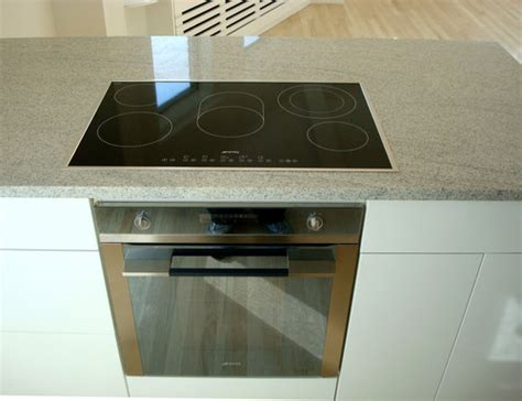 Small Oven And Cooktop the sleek glass cooktop built in oven look