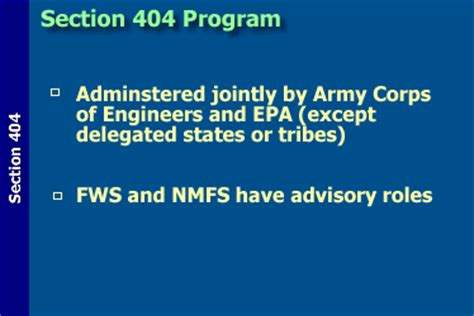 Section 404 Permits by Introduction To The Clean Water Act Watershed Academy
