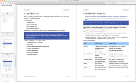 estimation template for software development business template apple iwork pages