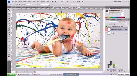 photoshop layout ideas learn how to create a professional brochure with photoshop
