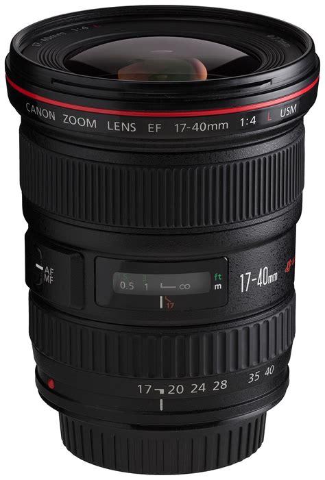 canon lens canon ef 17 40mm lens