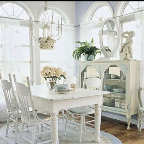 Shabby Chic Dining Room Curtains Shabby Chic Dining Room Decor To Adore