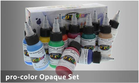 colors harder steenbeck airbrush