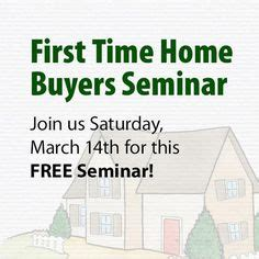 Free Time Home Buyer Workshop by Runs Meals And Raise Money On