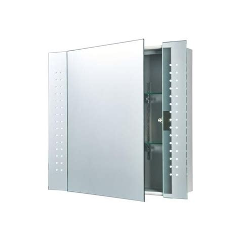 bathroom mirror with lights built in endon lighting revelo led bathroom cabinet mirror with