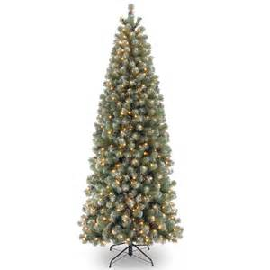 6ft pre lit lakeland spruce slim artificial christmas tree