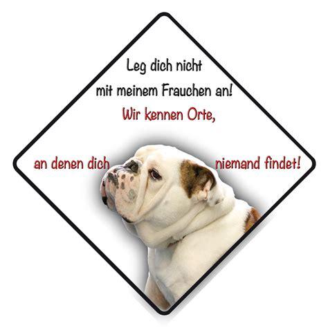 Aufkleber English by 4pfotenshop Hundewarnschilder Und Kratzfeste