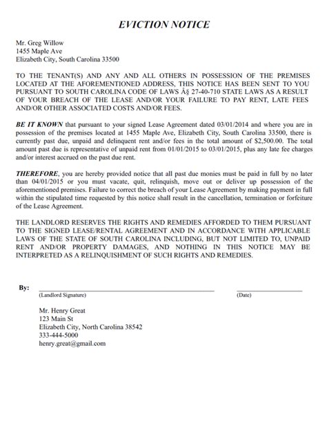 eviction notice template create   eviction notice form