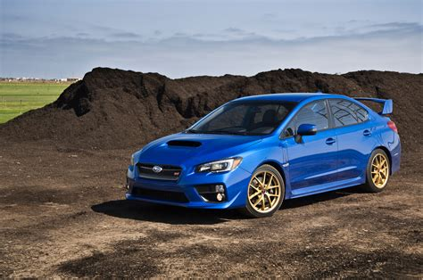 Launch Subaru 2015 Subaru Wrx Sti Launch Edition Arrival Motor Trend