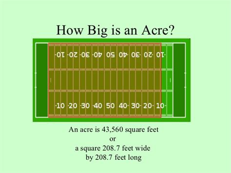 how many square feet is a 1 car garage how big is an acre 43 560 sqft or 208 7 feet x 208 7 feet