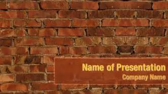Brick Wall Texture Powerpoint Templates Brick Wall Texture Powerpoint Backgrounds Templates Wall Powerpoint Template