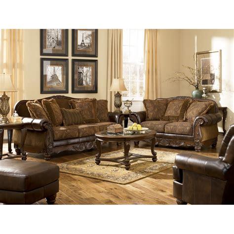 ashley furniture sofas and loveseats ashley fresco durablend 174 sofa loveseat
