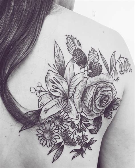 rose and lily tattoos best 25 sleeve ideas on lillies