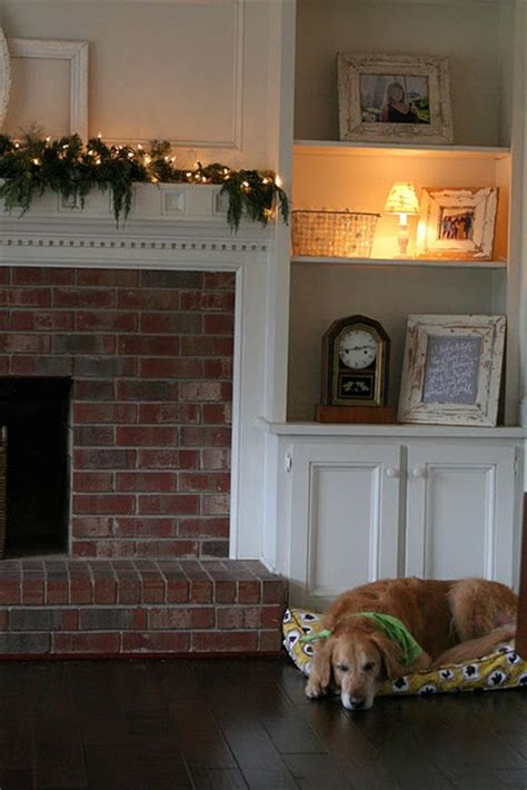 covering brick fireplace surround woodworking projects