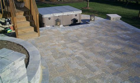 Patio Paver Installation by Installing Patio Pavers Modern Dining Room