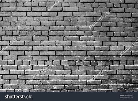 painting brick walls exterior a horizontal grey painted exterior brick wall stock photo